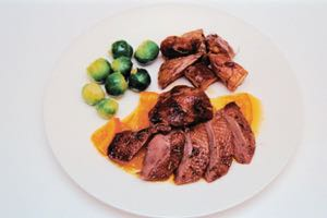 Orange Roast Mallard with an Orange Sauce
