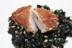 Crumbed Chicken Breast