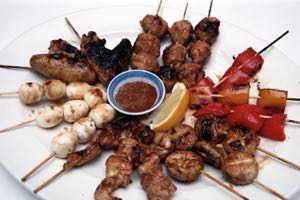 Yakatori: Grilled Skewered Chicken