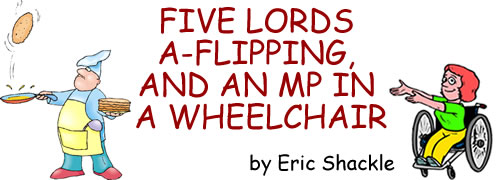 FIVE LORDS A-FLIPPING