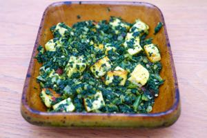 Homemade Kale Paneer, far better than anything bought