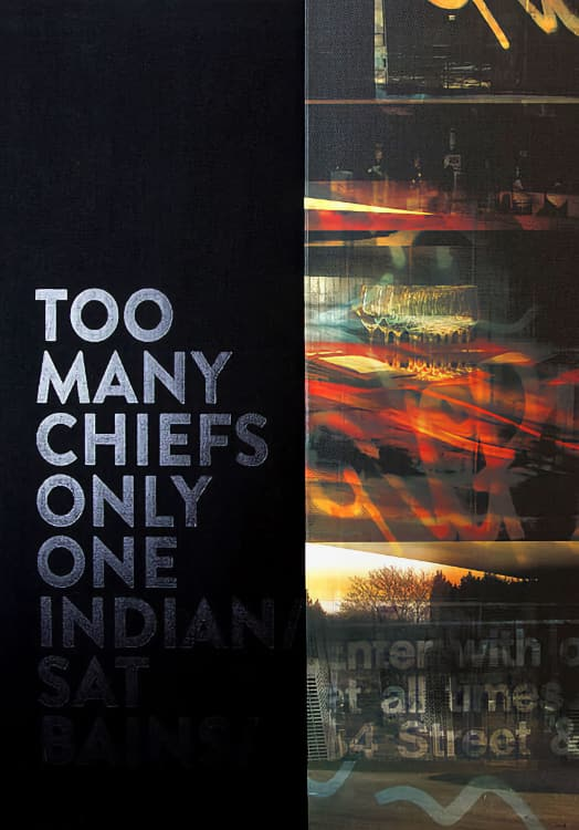 Too Many Chiefs Only One Indian