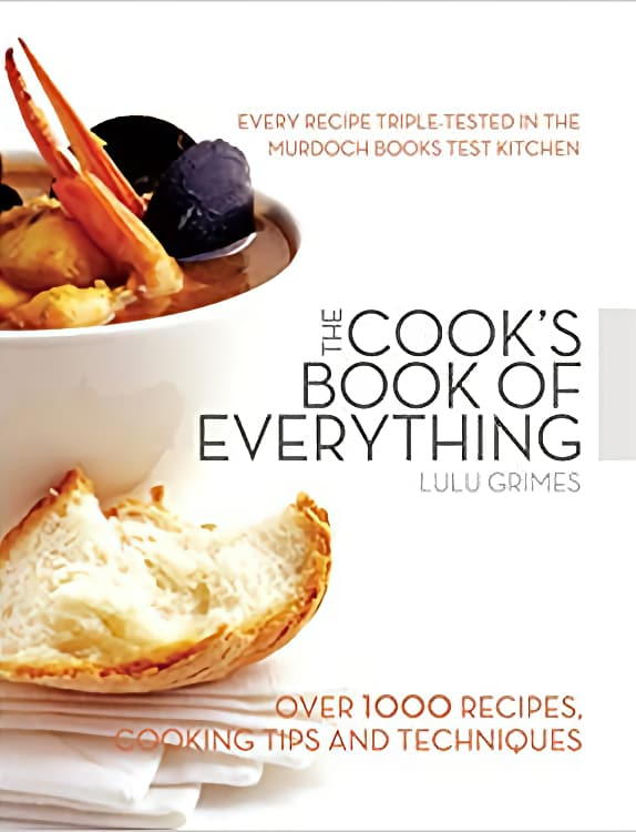 Cook's Book of Everything